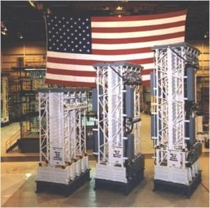 Ship missile launchers, vertical launching systems, VLS, American Flag