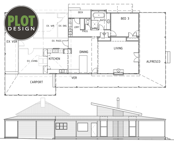 Plot Design : New Cottage Extension