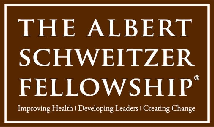 The Albert Schweitzer Fellowship: Improving Health | Developing Leaders | Creating Change
