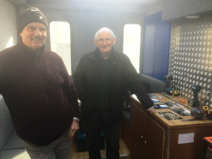 Hamilton and District Men's Shed member