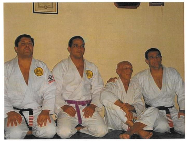 Working as Apprentice under Grand Master Helio Gracie and his sons Rolker, and Royler Gracie