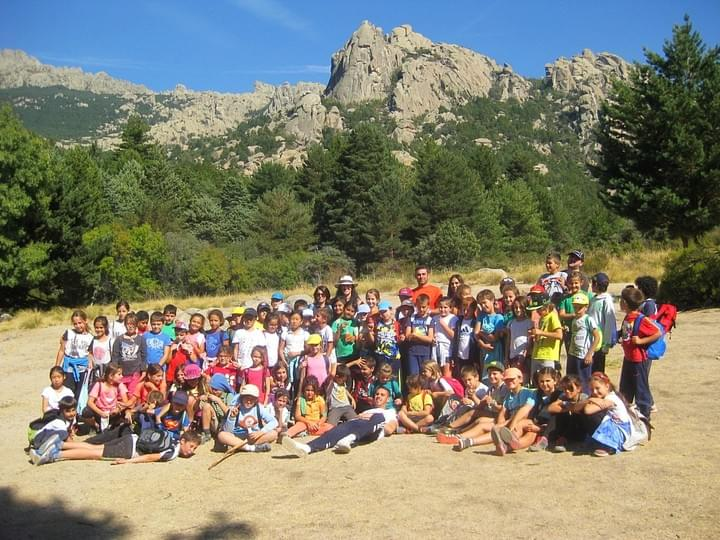 Hiking in Madrid for Schools