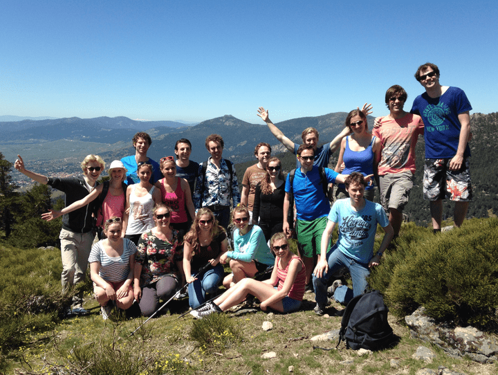 Hiking in Madrid for groups