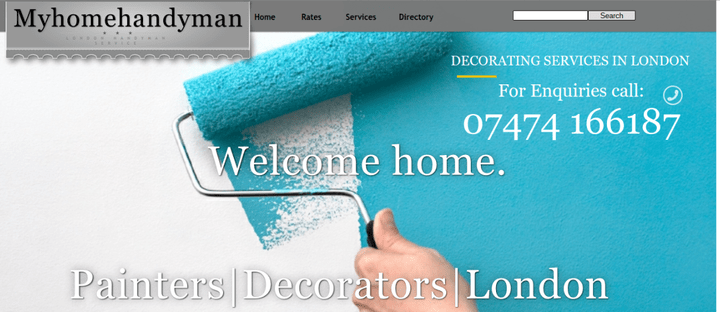 painters and decorators in London-myhomehandyman.co.uk