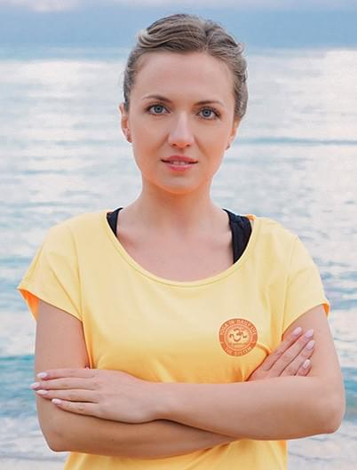 "Jekaterina Tskhovrebova, internationally cerified ""Yoga In Daily Life"" teacher at ""Tbilisi Yoga Cave"""