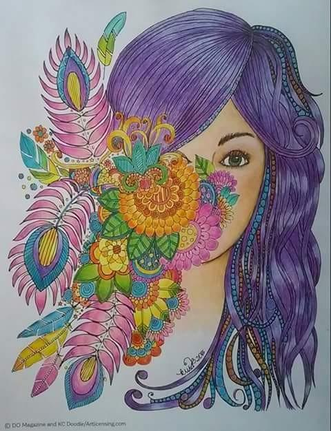 Image colored by me, it's from Do Magazine, KC Doodle Art