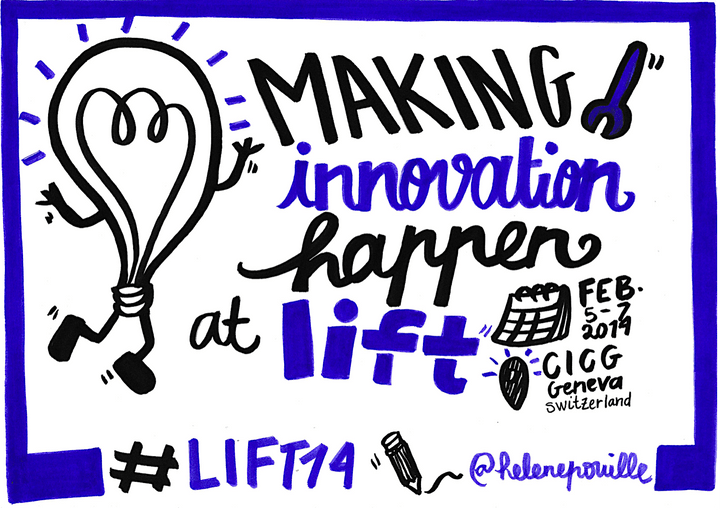 sketchnotes, facilitation graphique, facilitation visuelle, Hélène Pouille, innovation, lift