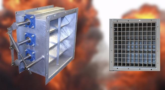 Purpose, Importance, Uses And Construction Of Blast Dampers - hvac