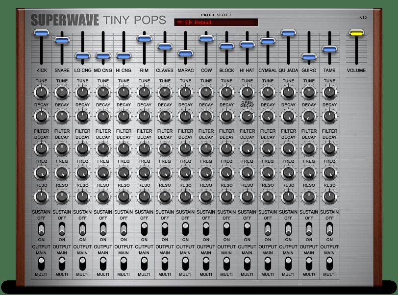 Tiny Pops - SuperWave