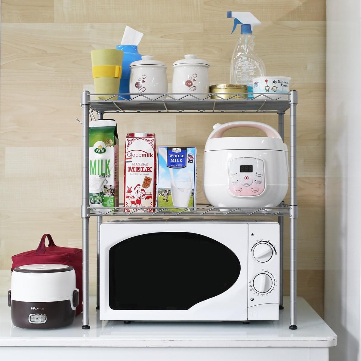 Homfa Kitchen Microwave Oven Rack