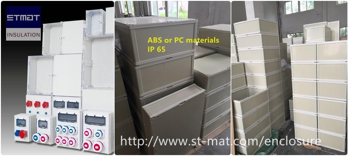 STMAT ABS/ PC made distribution enclosure and cabinet