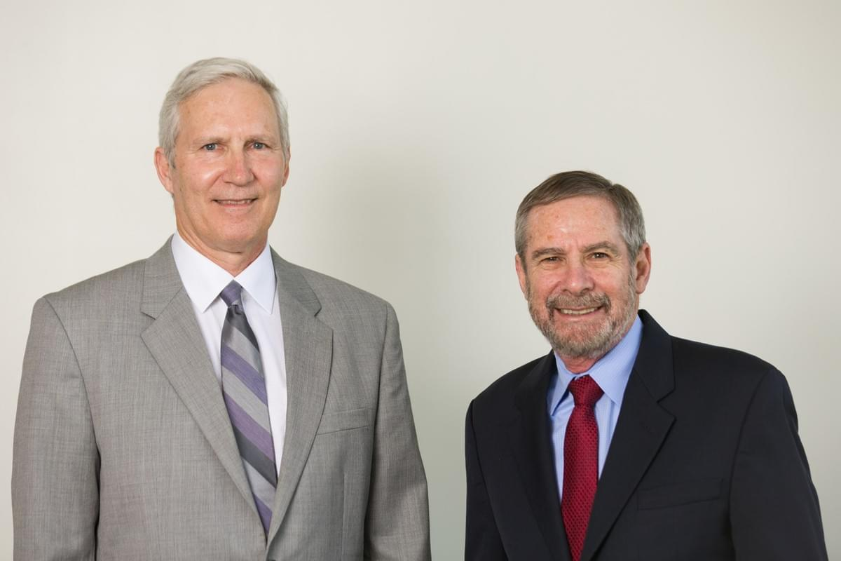 Dr. John Schiller and Dr. Douglas Lowy