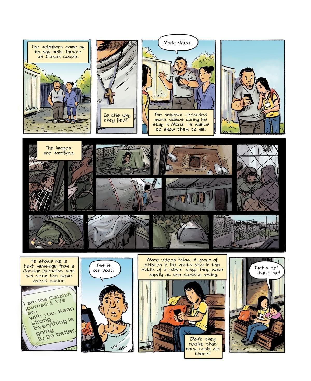 Europe's Waitingroom - Graphic Journalism Stories Refugee