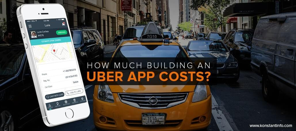 Cost of taxi booking app