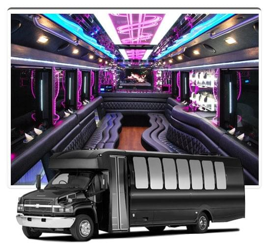 NYC partybus, New York0 partybuses, limo party bus, New York City