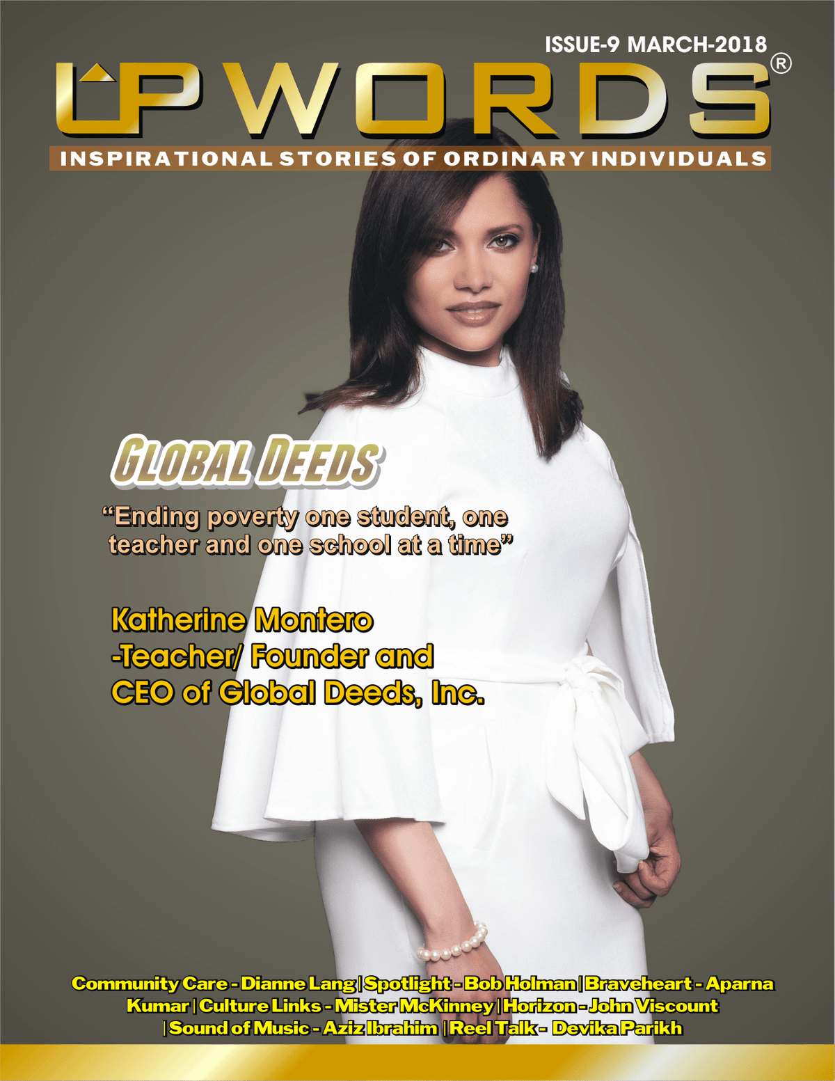 March 2018 Issue of Upwords Magazine