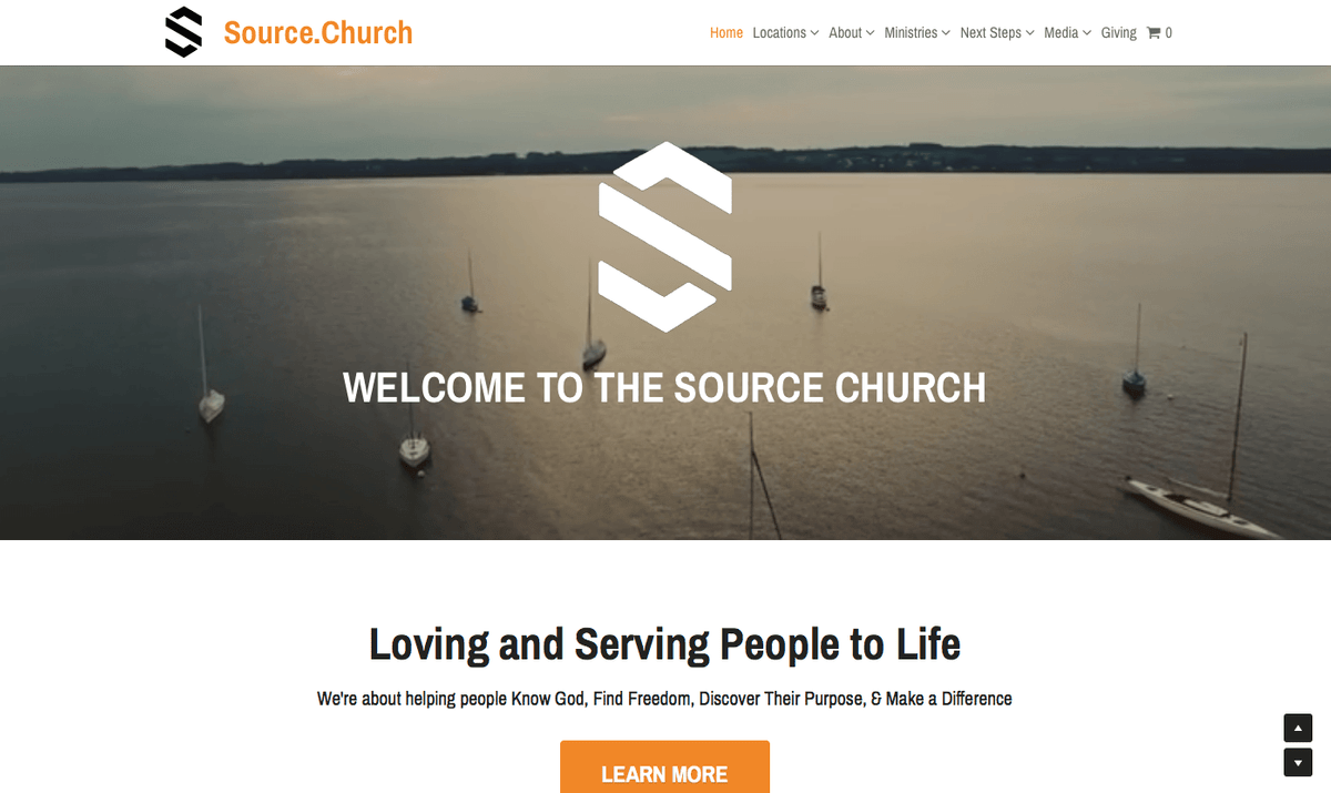 The Source Church Website