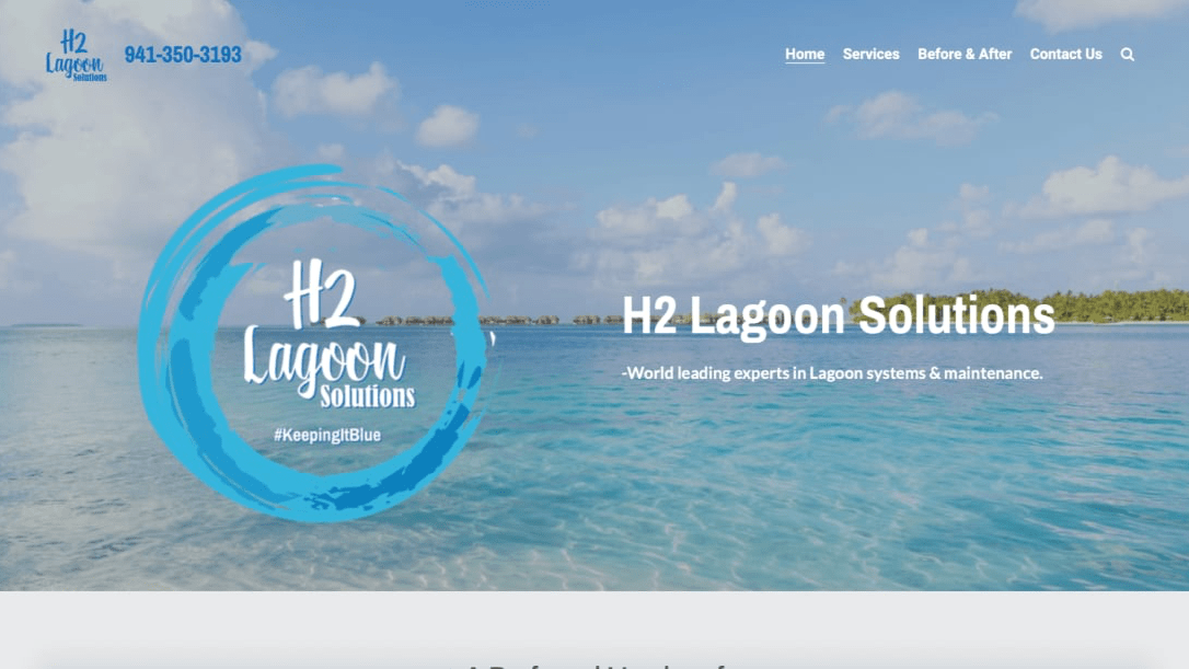 Ken Smith of H2 Lagoon Solutions