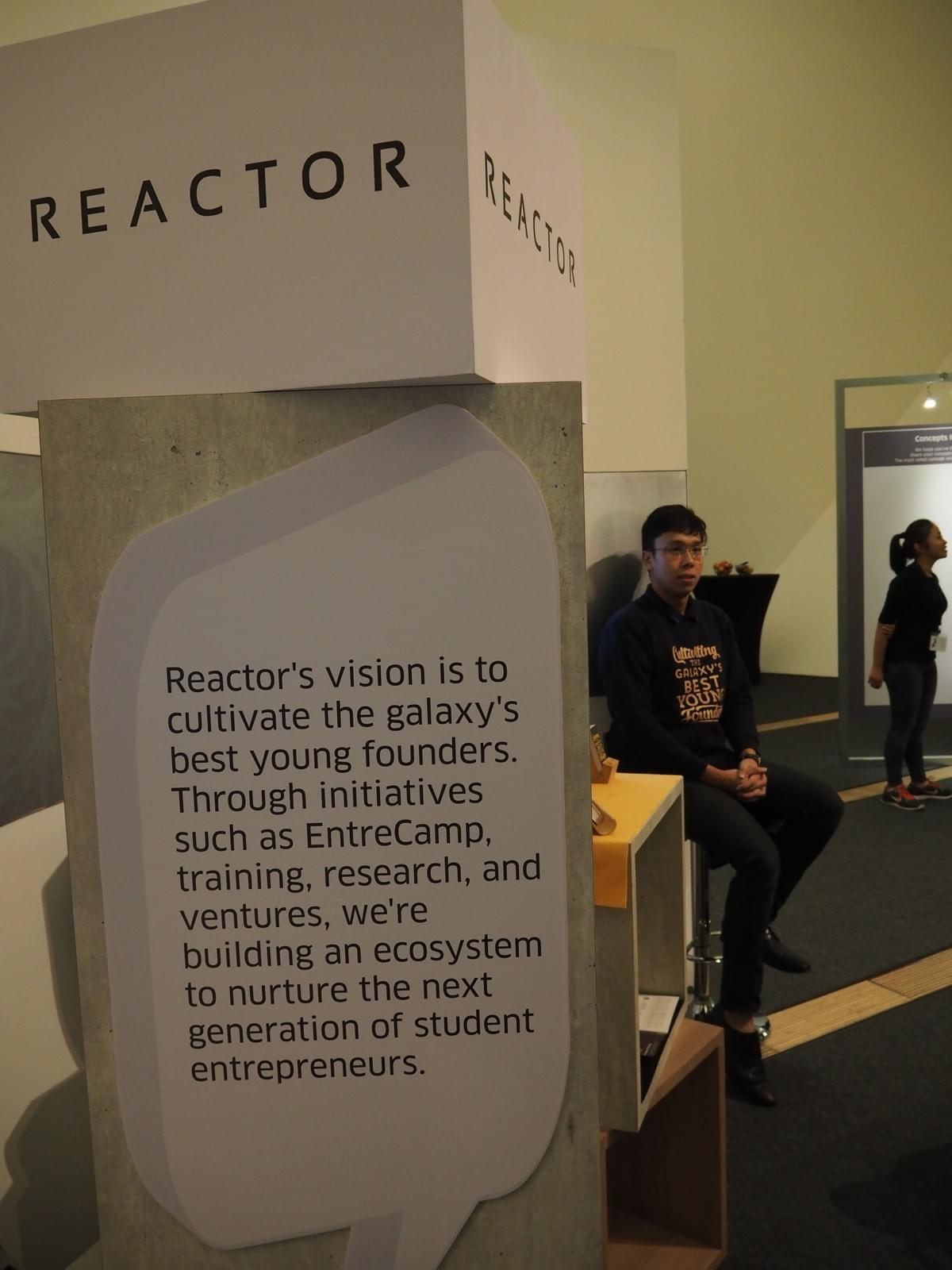 Reactor at DBS Immersion Day: emPATHy Exhibition at ArtScience Museum