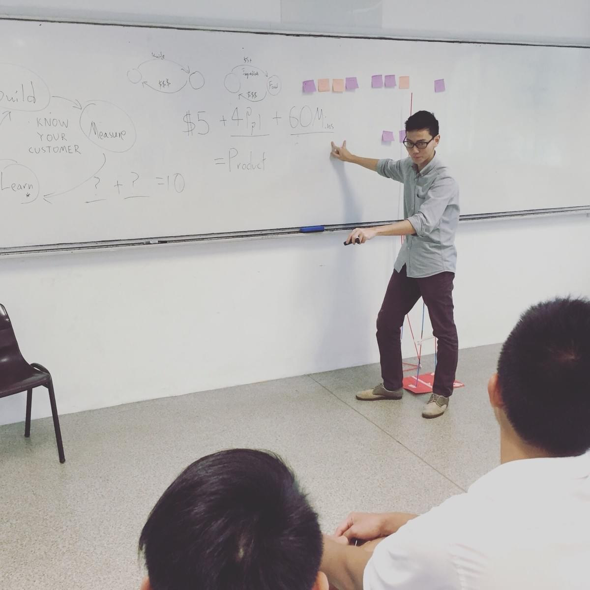 Divergent Thinking at Entrepreneurship Catalyst Programme 2015 at Raffles Institution