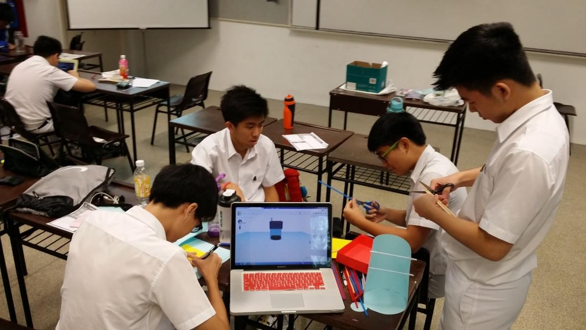 Prototyping at Entrepreneurship Catalyst Programme 2015 at Raffles Institution