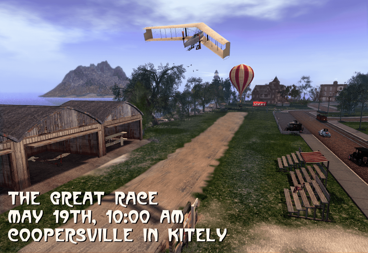 The Great Race at Coopersville in Kitely