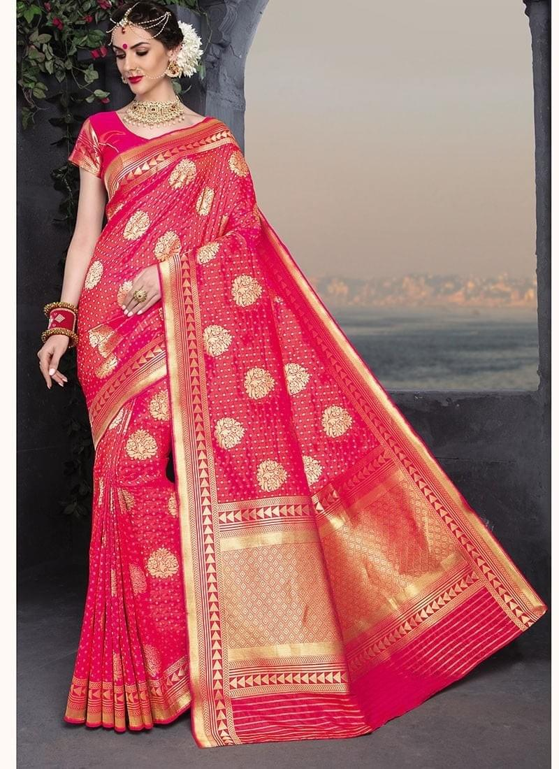 c422147751652c If you are going out in an important meeting, engagement ceremony, party,  or pooja, don't choose any other than Mysore silk saree which will give you  the ...