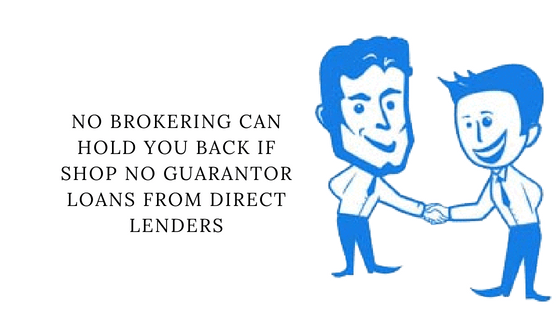 Very bad credit loans with no guarantor and no broker