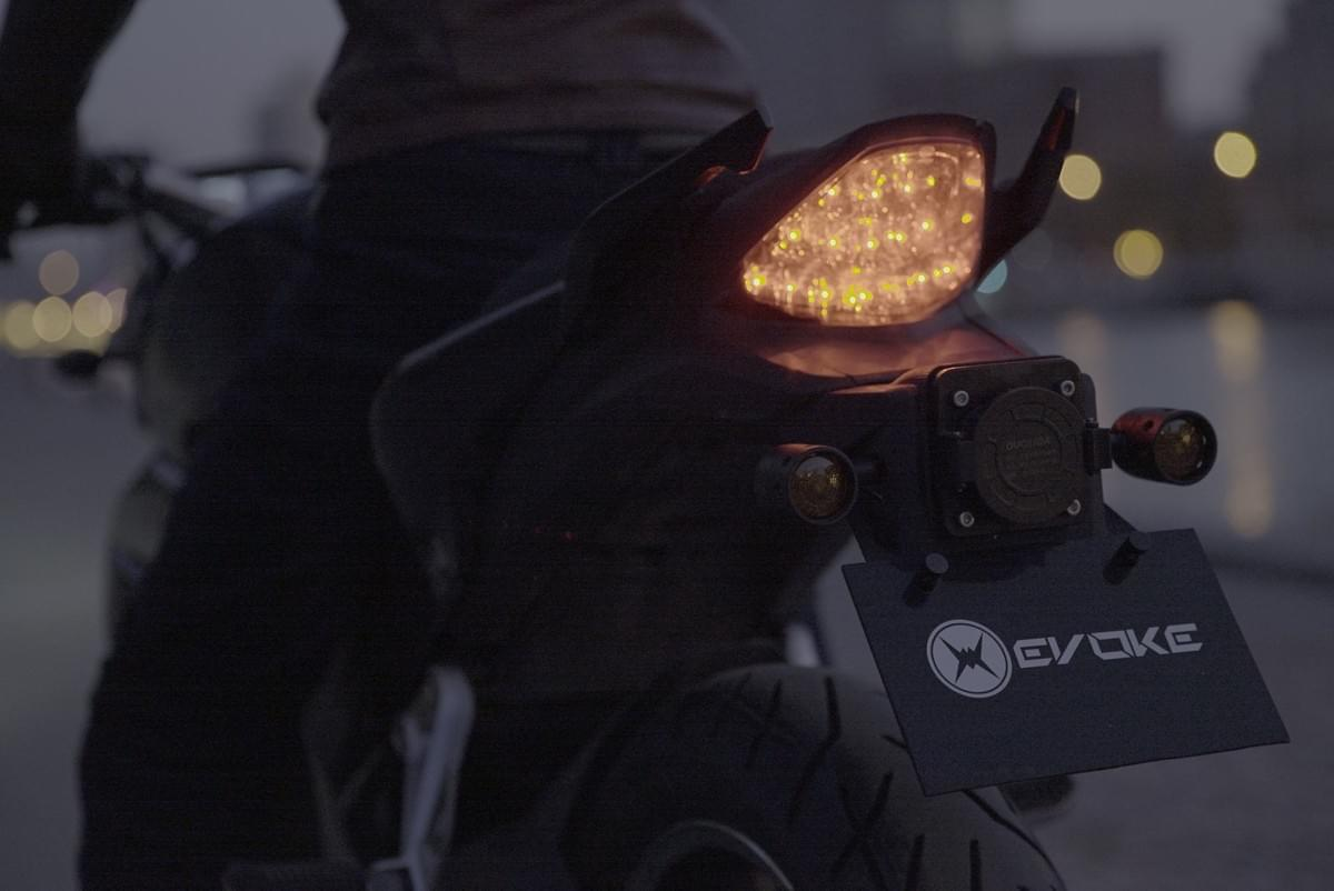 Evoke Electric Motorcycles Reverse Gear capability