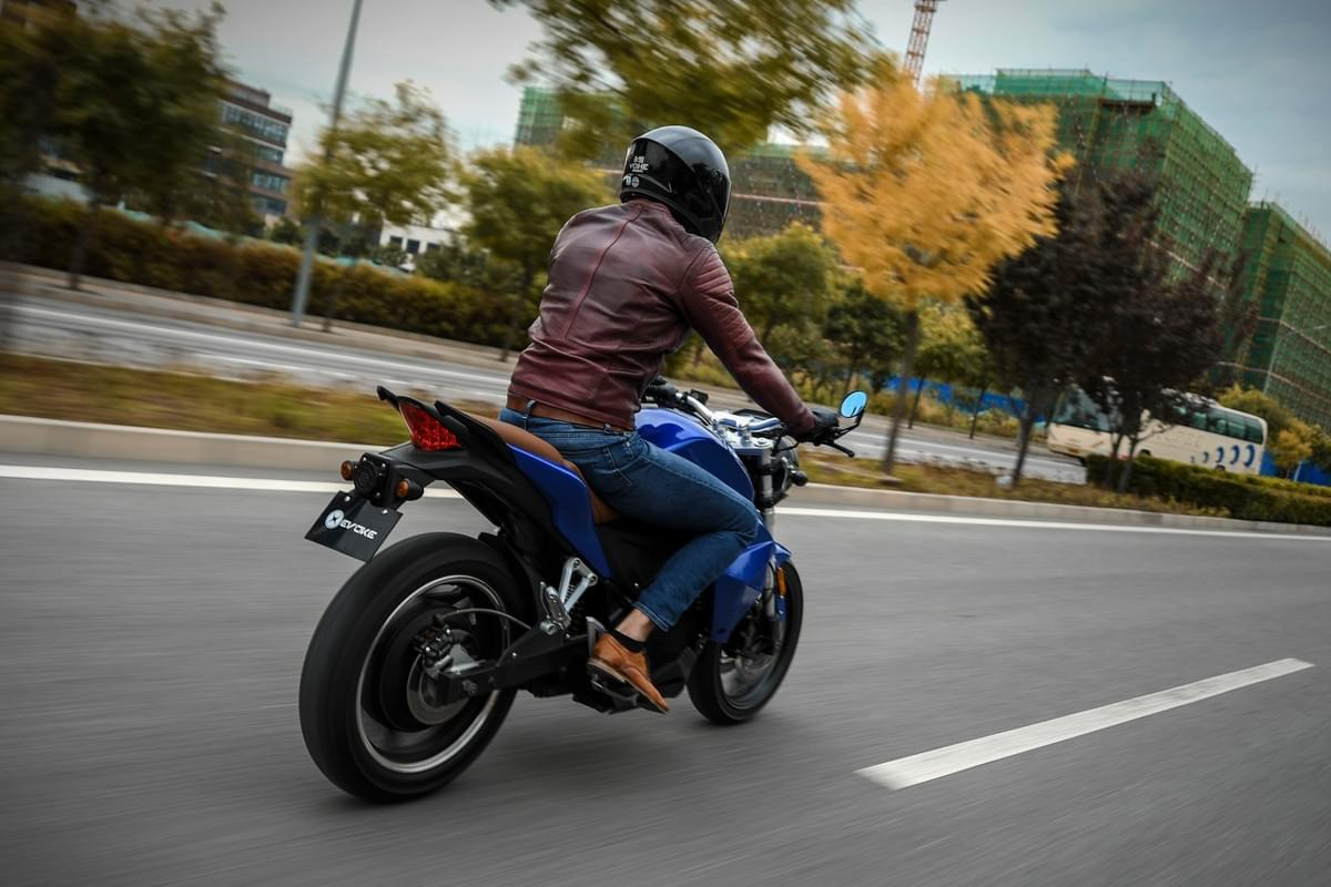 Evoke Electric Motorcycles Improved Range
