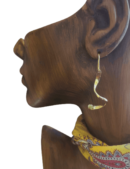 Earrings for the woman who desire a life of quality and simple elegance