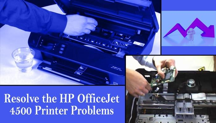 5 Ways to Resolve the HP OfficeJet 4500 Printer Problems - computer