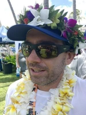 Travis Grant after the M2O SUP Race July 30, 2017