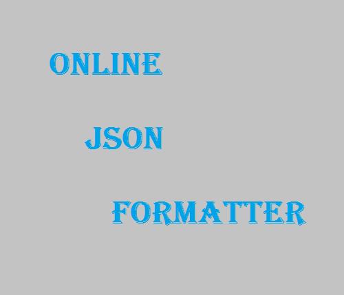 THE BEST ONLINE JSON FORMATTER IS HERE AT TOOLSLICK COM!