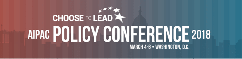 AIPAC Policy Conference 2018