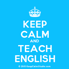 Keep Calm and Teach English