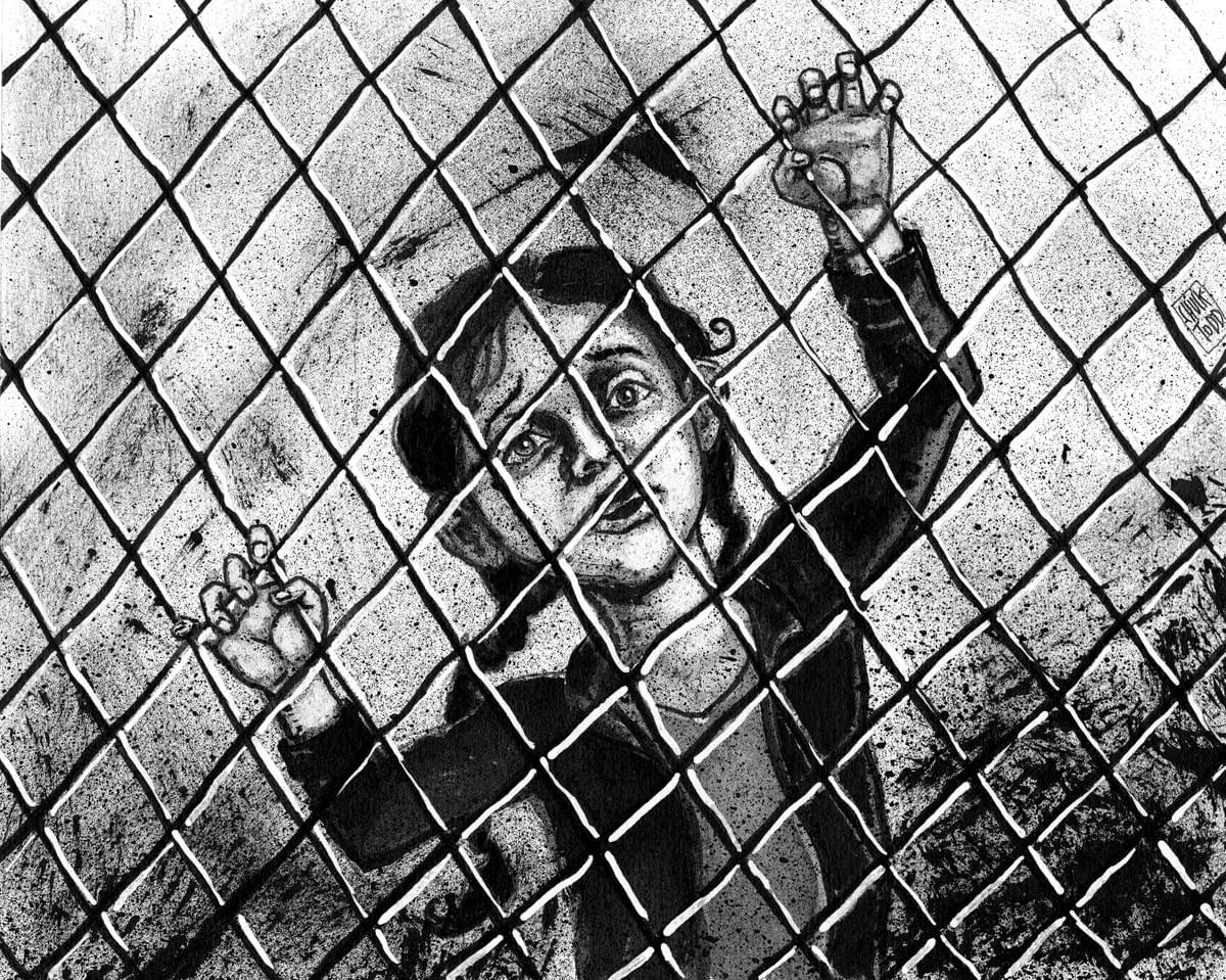 Child in a Cage Don't Look Away