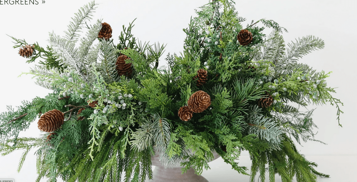 Claire Rathbun Dallas Event Florist Holiday Photo from Afloral website
