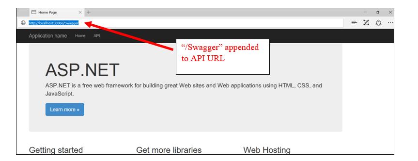 Swagger UI in ASP NET Web API - ASPNET Web API Swagger UI Visual