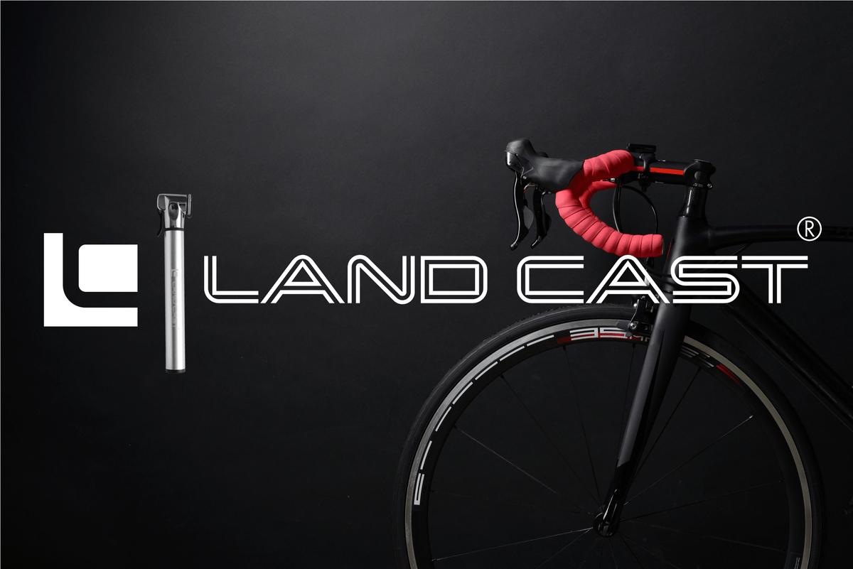 ... LAND CAST Portable Mini Bike Pump 300PSI Awe-Inspiring Light Pump Weight