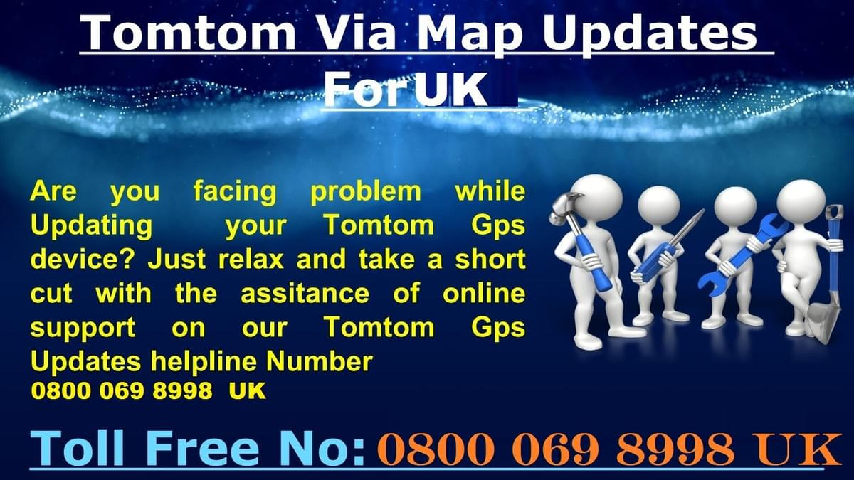 TomTom Home Window 10 Issues Dial Tollfree Number +44 800 069 8998