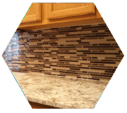 Tulsa Tile Contractor I Kitchen Backsplash
