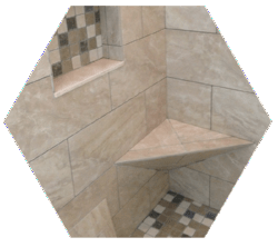 Custom Tile Installation I Tulsa I Bathroom Shower Remodel