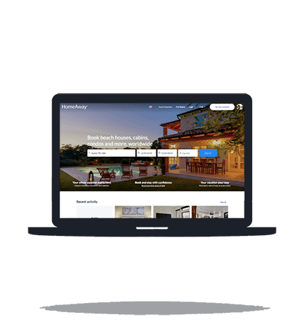 View HomeAway ReDesign Project