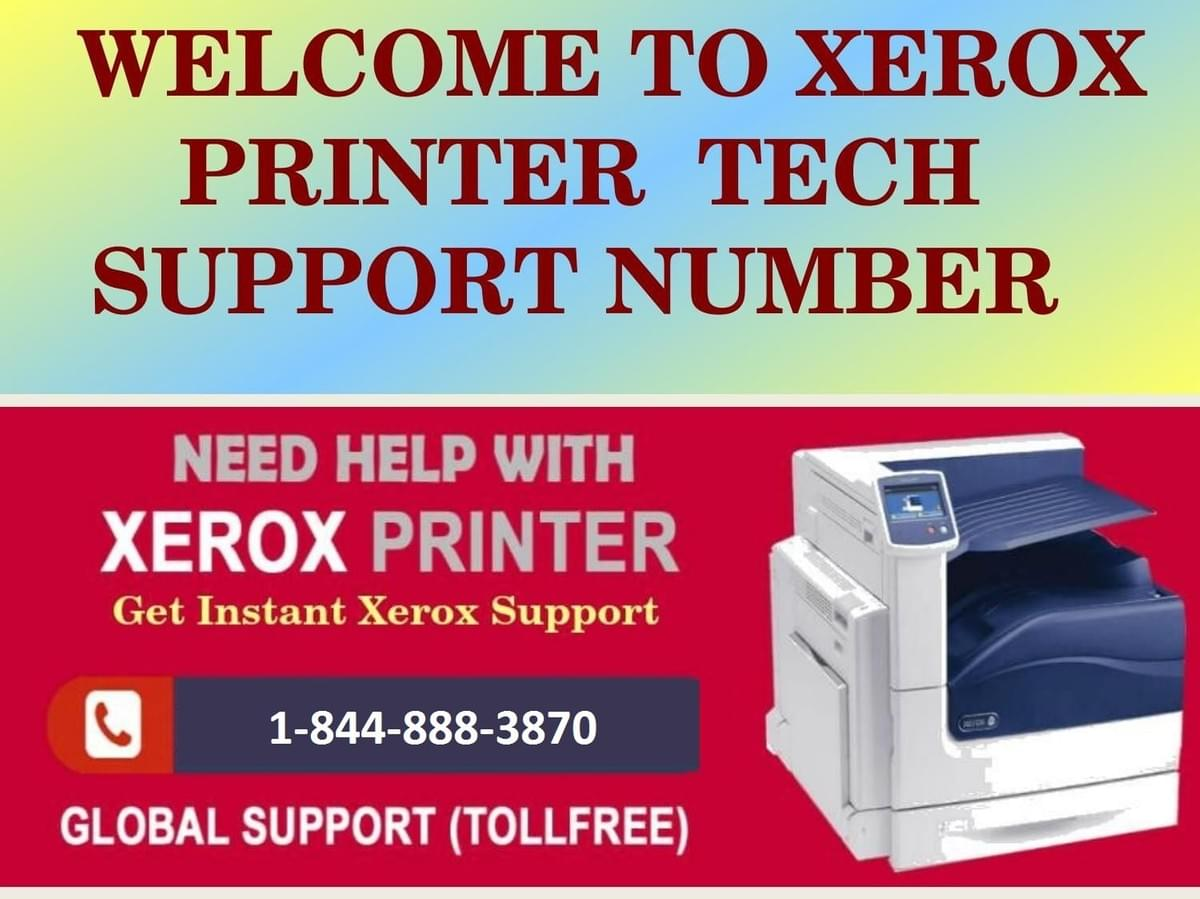 Dial Toll-Free Number to Xerox Printer Customer Support Service