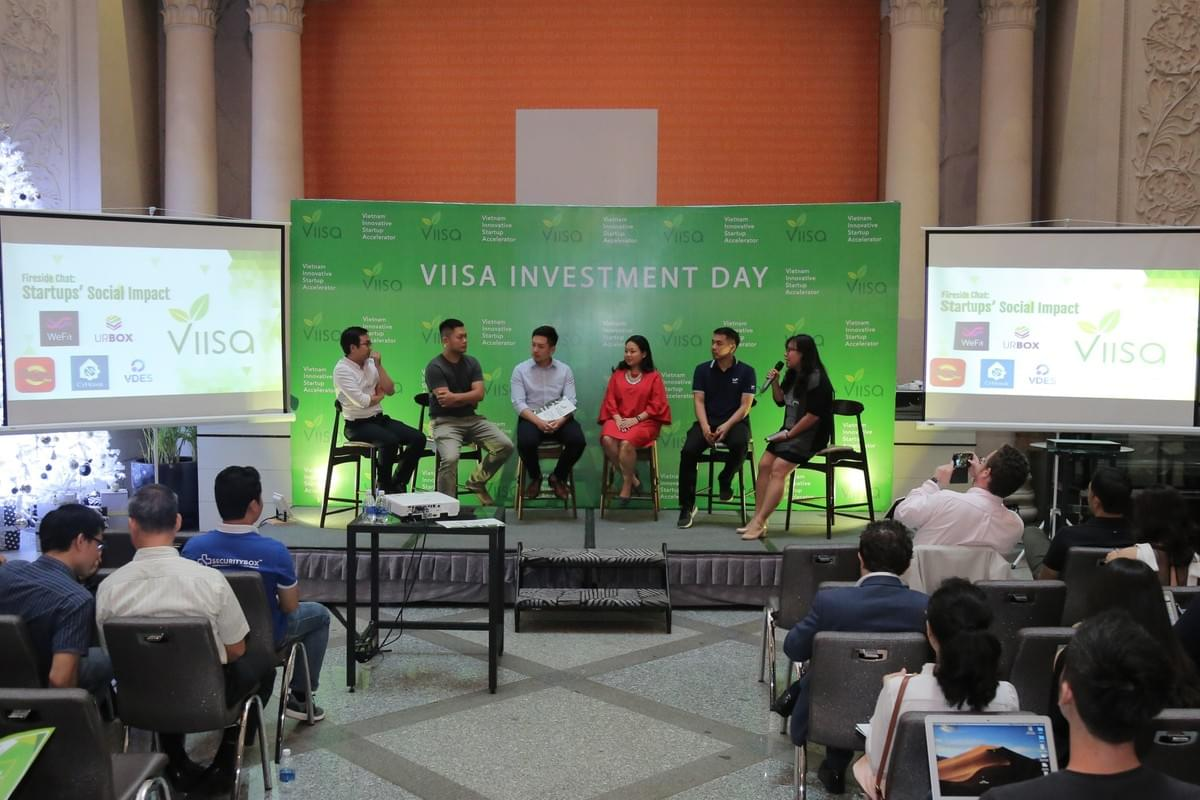 Founders panel discussed VIISA's impact on portfolio companies as well as startup community.