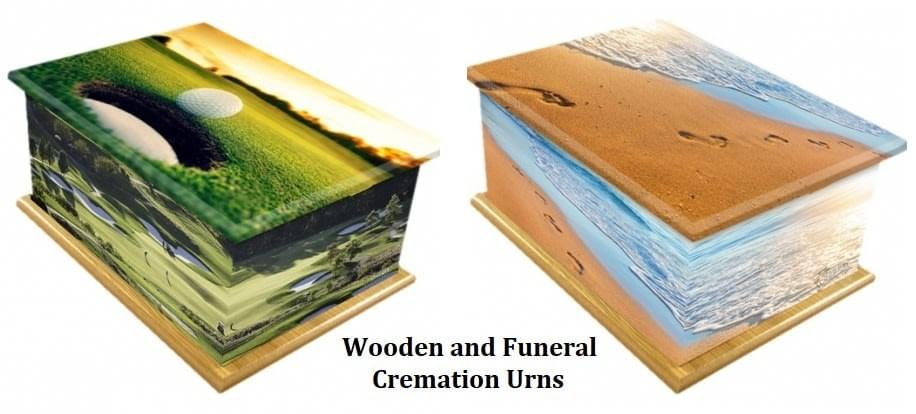 Wooden and Funeral Cremation Urns