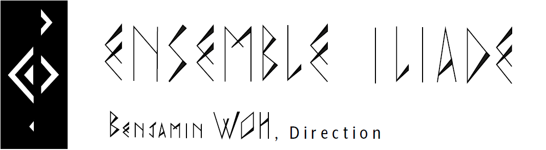 logo ensemble iliade, direction benjamin woh