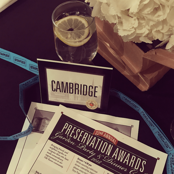 Old Towne Preservation Association - Nomination and Dinner