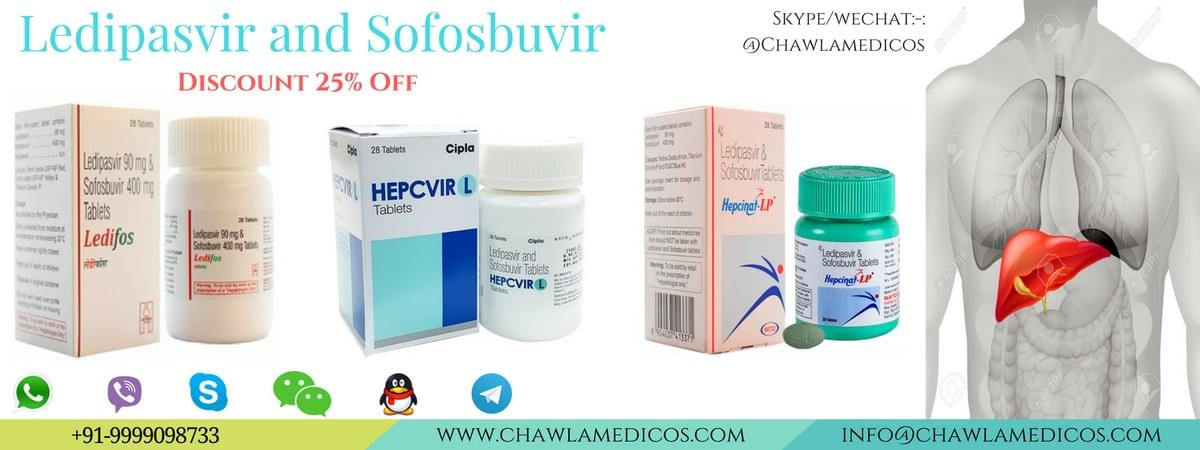 Ledipasvir and sofosbuvir